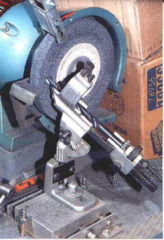 How to Build a Base for a Drill Grinding Attachment