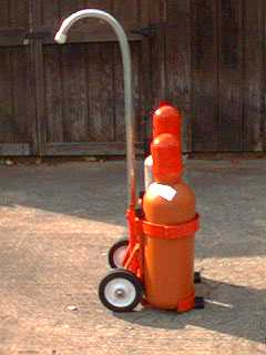 How to Build a Oxy Acetylene Cylinder Cart