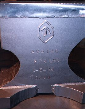 How to do a Trademark on an Anvil