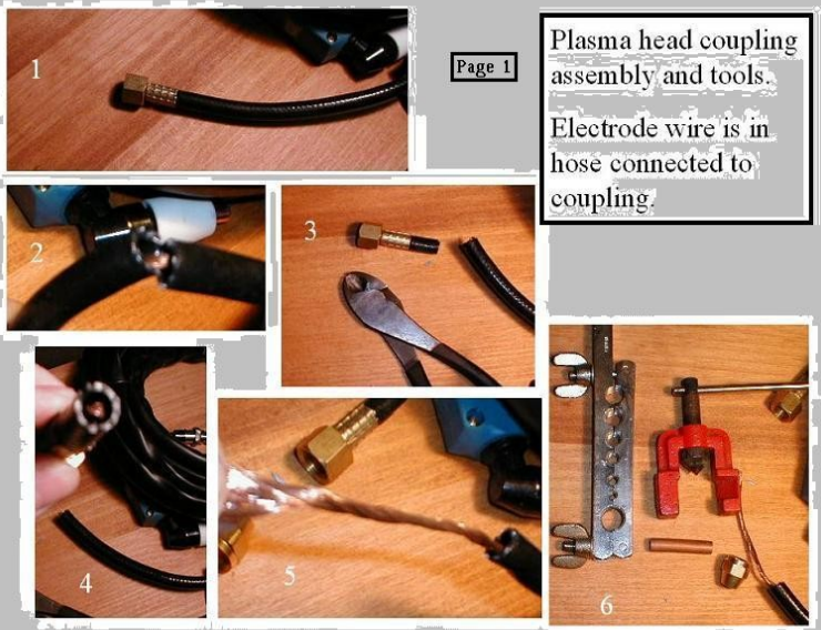 Plasma Head Hose Assembly