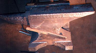 Side View of Anvil