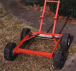 View of Cart Frame