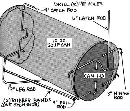 how to build a can mouse trap